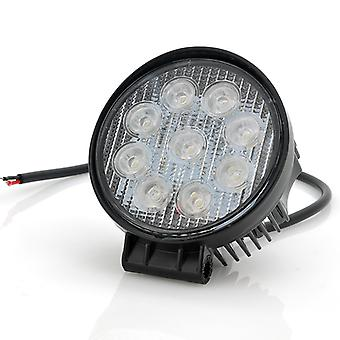 27W CREE LED Work Light - 9x 3W,  Vehicle Light (Trucks, Jeep, Off-Road), IP65 Waterproof Rating