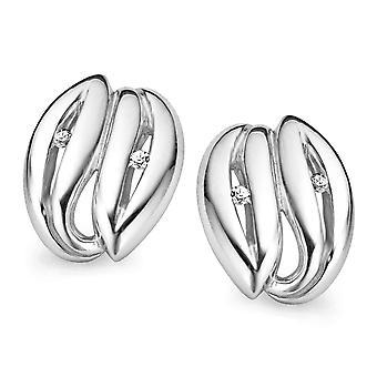 Orphelia sølv 925 ørering Zirconium ZO-5010