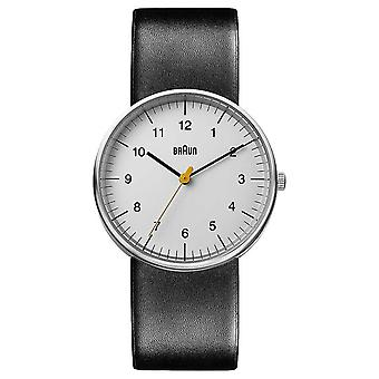 Braun Unisex Black Leather BN0021BKG Watch