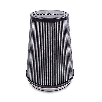 Airaid 720-243TD Racing Air Filter: Oval Tapered; 6 in (152 mm) Flange ID; 8 in (203 mm) Height; 9.125 in x 7.375 in (23
