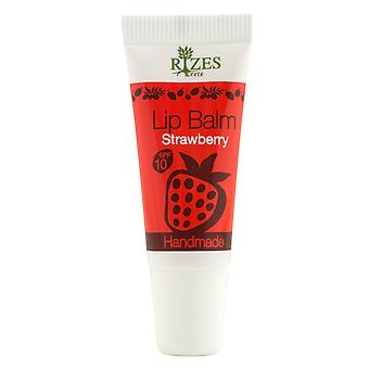 Lip balm with SPF strawberry, without Vaseline. 8ml