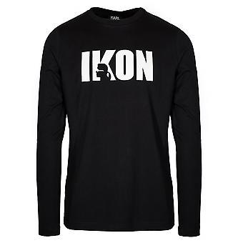 Lagerfeld Lagerfeld Black IKON T-Shirt