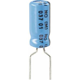 Vishay 2222 037 38221 Electrolytic capacitor Radial lead 5 mm 220 µF 63 V 20 % (Ø x H) 10 mm x 20 mm 1 pc(s)