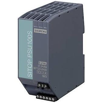 Siemens SITOP PSU100S 24 V/5 A Rail monté PSU (DIN) 24 Vdc 5 A 120 W 1 x