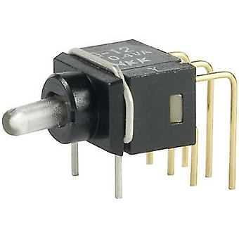 NKK Switches G22AP Toggle switch 28 V DC/AC 0.1 A 2 x On/On latch 1 pc(s)