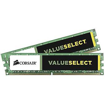 Corsair PC RAM kit Value Select CMV8GX3M2A1600C11 8 GB 2 x 4 GB DDR3 RAM 1600 MHz CL11 11-11-30