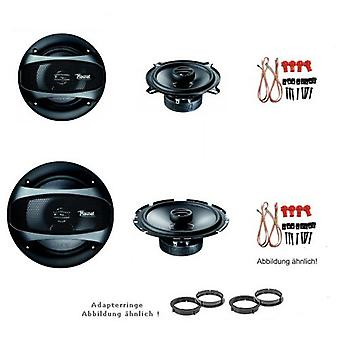 Audi A3 to 4.2003, loudspeaker Kit, door front and side panel rear