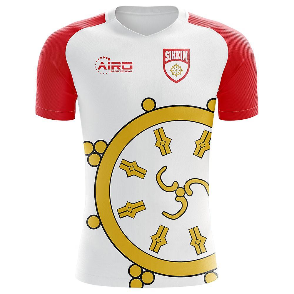 2018-2019 Sikkim Home Concept Football Shirt