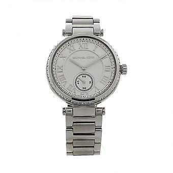 Michael Kors Watches Mk5866 Skylar Silver Stainless Steel Ladies Watch