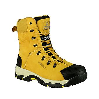 Amblers Mens FS998 Waterproof Heat Resistant Safety Boot S3-HRO-SRC
