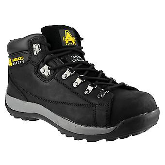 Amblers Mens FS123 Steel Toe & Midsole Leather Safety Boot SB-P-SRA