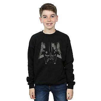 Star Wars Boys Darth Vader Helmet Sweatshirt