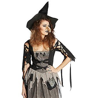 Witch nose sorceress nose accessory carnival woman's fast night