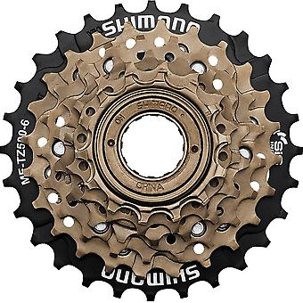 Shimano MF-TZ500 (tourney) / / 6-freewheel screw ring (14-28 teeth)