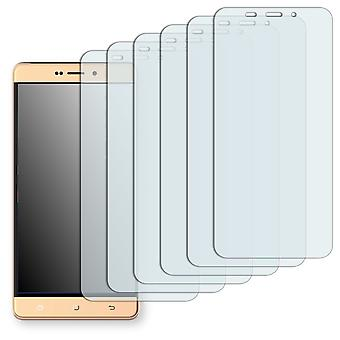 Hisense E76 mini screen protector - Golebo Semimatt protector (deliberately smaller than the display, as this is arched)