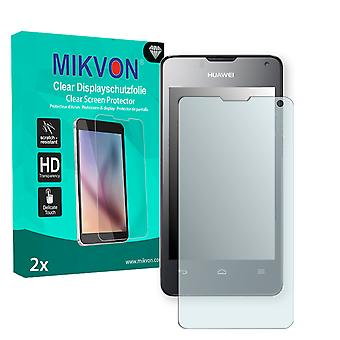 Huawei Ascend Y300 Dual SIM Screen Protector - Mikvon Clear (Retail Package with accessories)