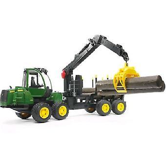 Bruder John Deere bosbouw tractor