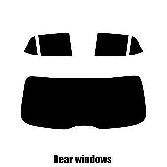Pré coupé vitres teintées - Skoda Fabia 5 portes à hayon - 2014 et plus récents - glaces arrière