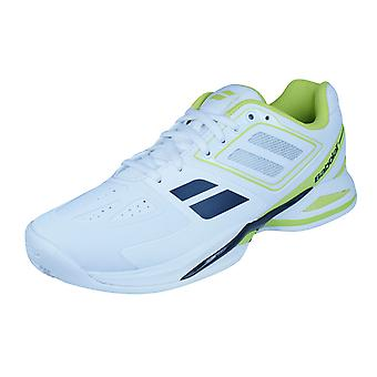 Babolat Propulse Team BPM Clay Mens Tennis Trainers / Shoes - Yellow and White
