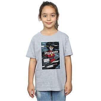 Marvel Universe Girls Spider-Woman Fight T-Shirt