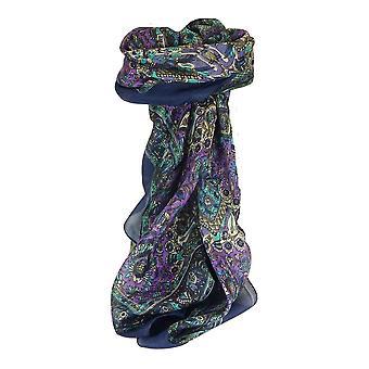 Тутовых шелка традиционными квадратный шарф Мани ВМС, пашмины & шелка