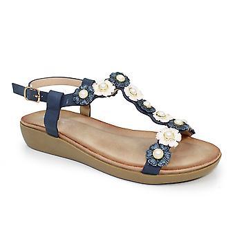Lunar Shelly Flower sandaal