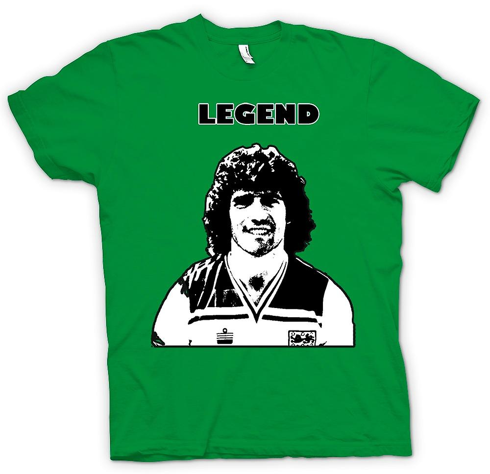 Mens T-shirt - Kevin Keegan - Football Legend