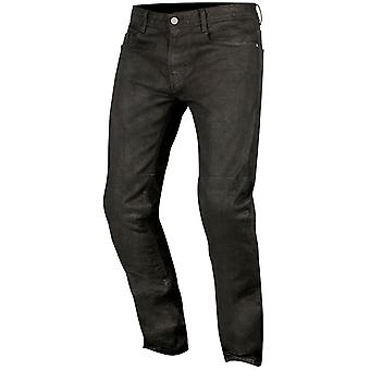 Alpinestars Black Double Bass Motorcycle Jeans