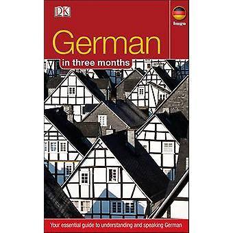 German in 3 Months by DK - 9781405391603 Book