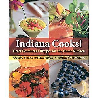 Indiana kokker!: flott Restaurant oppskrifter for hjemmet kjøkkenet (klammeri bøker): stor Restaurant oppskrifter for hjemmet kjøkkenet (klammeri bøker)