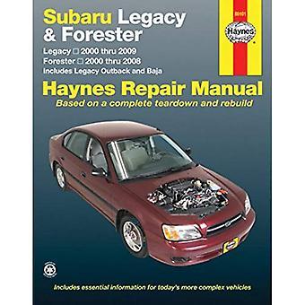 Subaru Legacy/Forester Automotive Repair Manual: 2000-09 (Haynes Automotive Repair Manuals)