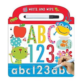 Write and Wipe ABC 123 [Board book]