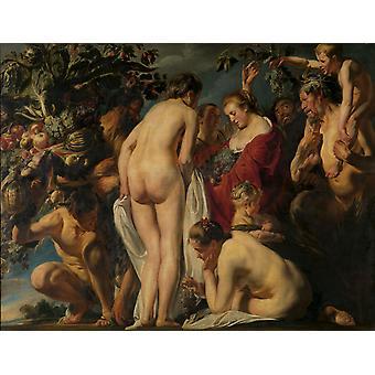 Allegory of Fettility, Jacob Jordaens, 50x38cm