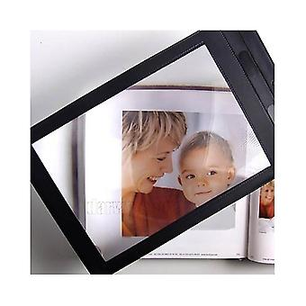 Big A4 Full Page Magnifier Sheet Magnifying Glass Reading Aid Lens