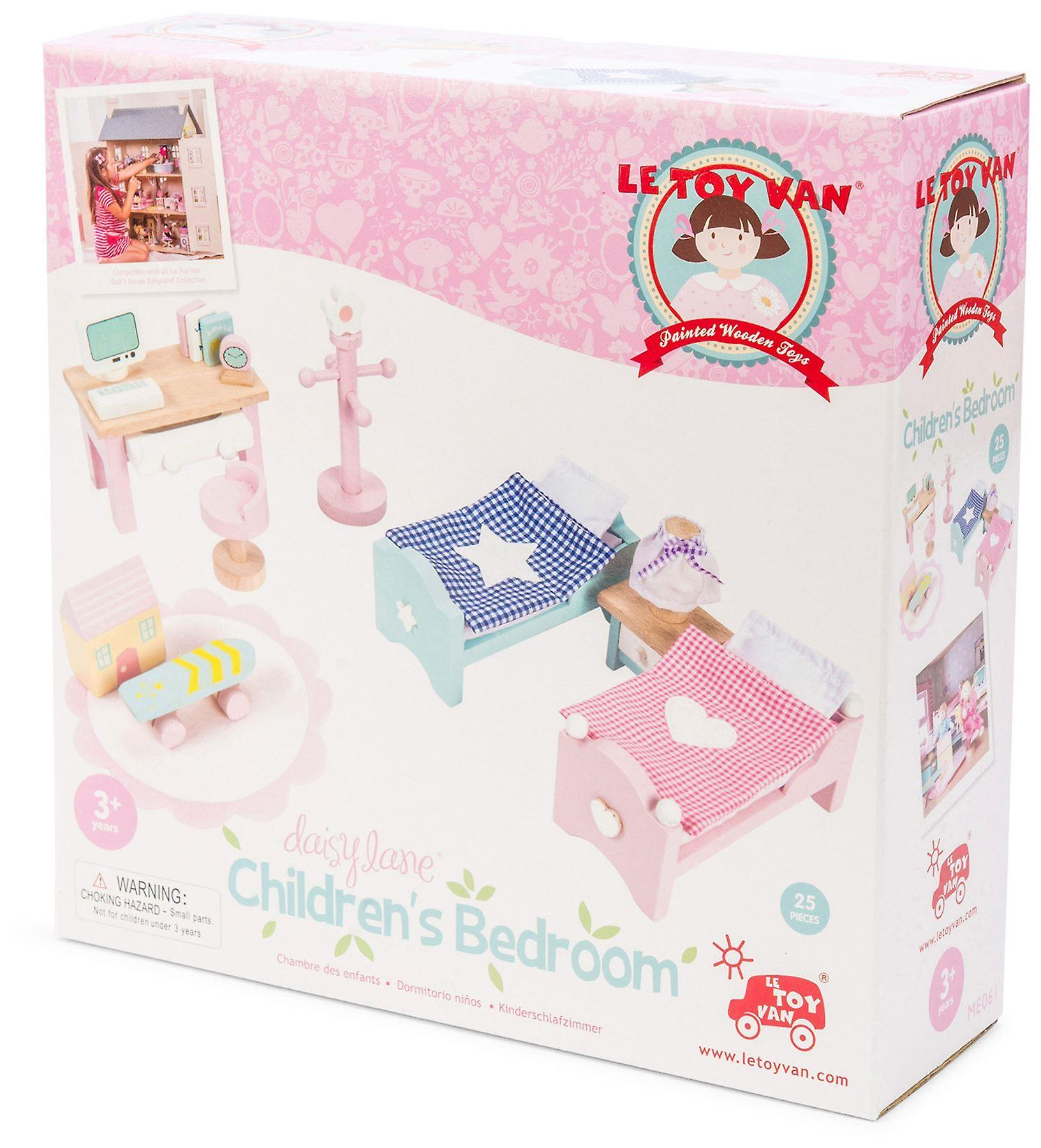 Le Toy Van Doll House Daisylane Childrens Bedroom