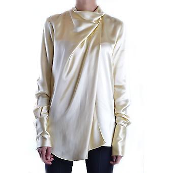 Céline Yellow Silk Shirt