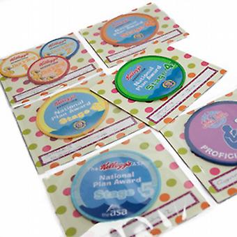 My Proud Moments Badge Holder Extra Pages - Spotty