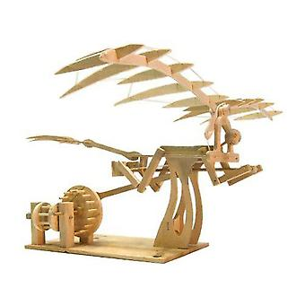 Pathfinders Da Vinci Ornithopter Wooden Kit