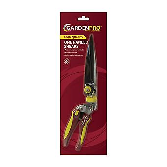 Gardenpro Quality One Handed Shear with Cushion Grip Handle and Locking Handles - Ideal for Garden Pruning Trimming & Cutting