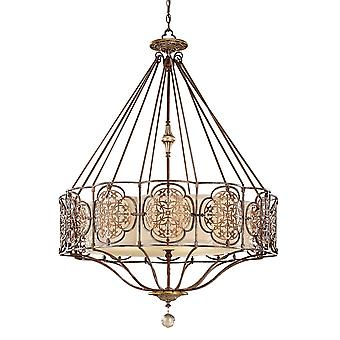 Marcella Four Light Chandelier - Elstead Lighting Fe / FE/MARCELLA4