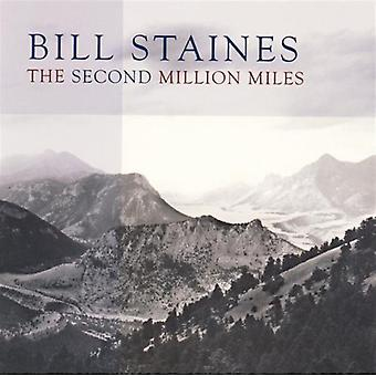 Bill Staines - Second Million Miles [CD] USA import
