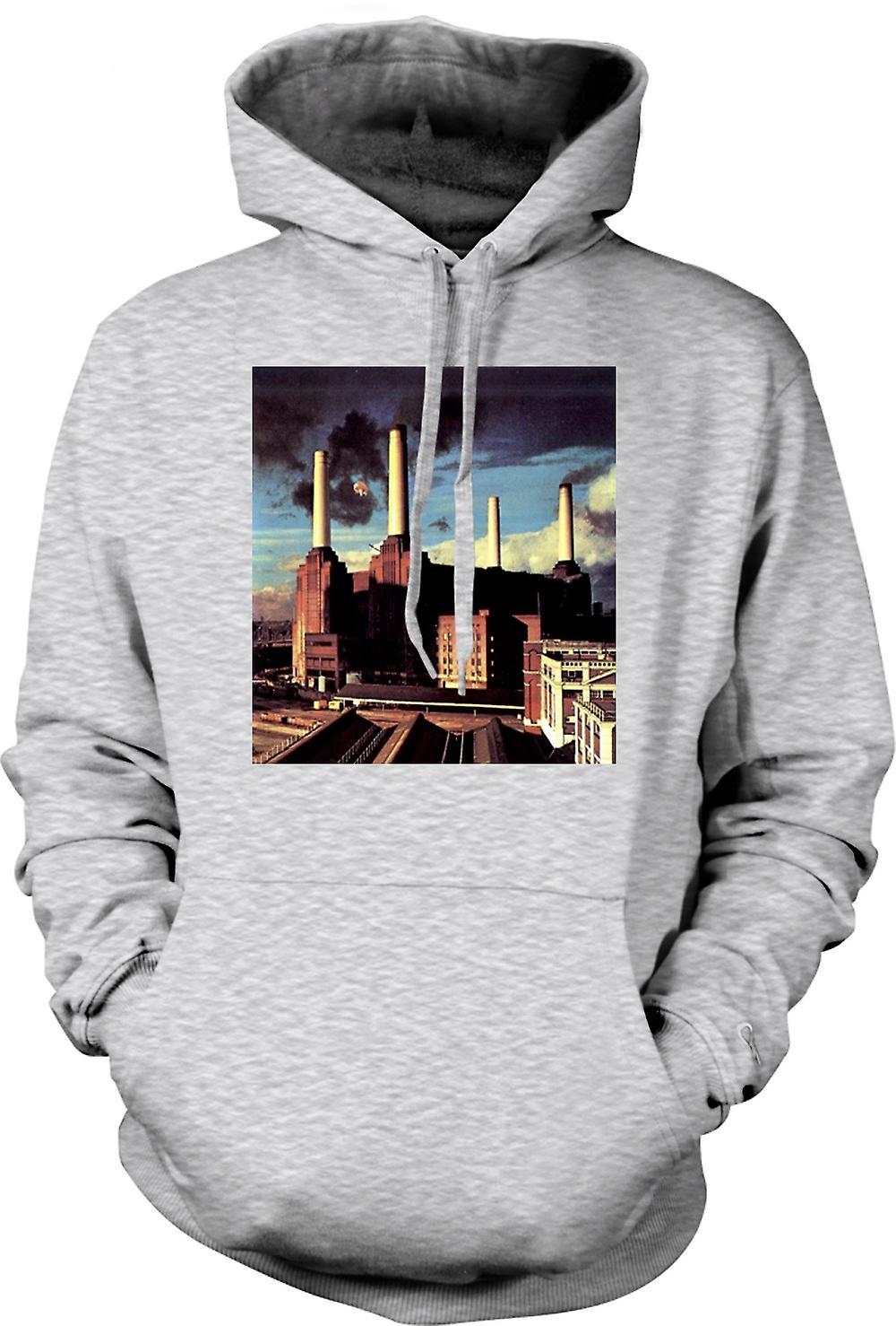 Heren Hoodie - Pink Floyd - Animals Rock