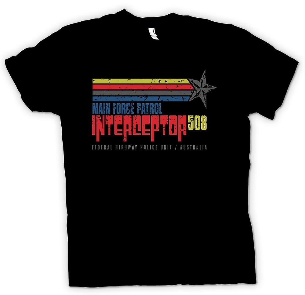 Mens T-shirt - Main Force Patrol Interceptor 508 - Mad Max Inpsired