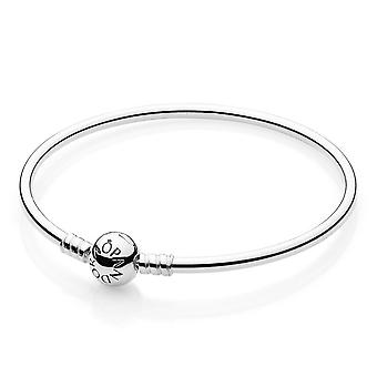 Pandora Moments Sterling Silver Charm Bangle 21CM - 590713-21