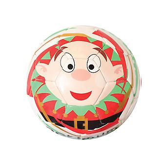 Optimal Christmas Elf mini festlig fotball fotball ball hvit