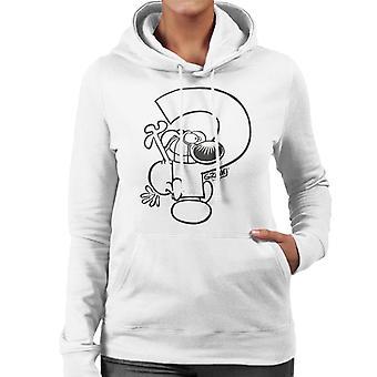 Grimmy Question Mark Women's Hooded Sweatshirt