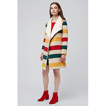 Louche Jeannie Stripe Waterfall Coat