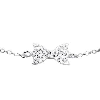 Bow - 925 Sterling Zilver ketting armbanden - W18605X