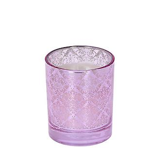 Scented candle Alma Fresh Linen Pink 11 cm