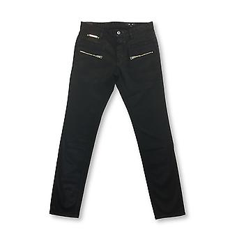 Just Cavalli jeans in black wax surface finish